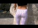 113- Видео - Pantyhose, Silky Fetish ass leggings sexy spandex молодая красивая девушка в леггинсах попка в лосинах ножки [720