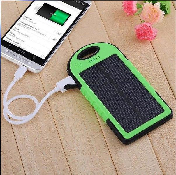 Зарядное для смартфона на солнечных батареях