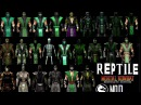 Mortal Kombat ALL REPTILE MK Costume Skin PC Mod MK9 Komplete Edition MKKE HD