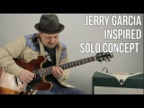 Jerry Garcia Solo Concept Lead Guitar Lesson - Country Blues