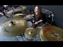 ABORTED@Termination Redux-Ken Bedene-live in Brutal Assault 2016 Drum Cam