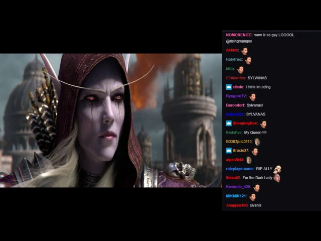 Twitch Chat reaction to World of warcraft Battle For Azeroth and WoW Classic reveal trailer