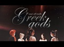 RED VELVET ─ ⌈war of gods⌋ greek gods au