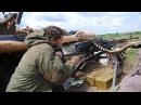 21 Ополченец снимает последствия боя Август 2014 Боевые действия на Юго Востоке У...