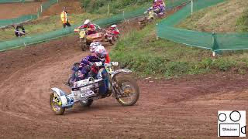 GP Sidecarcross Rudersberg 2017: Team JD75KS Janis Daiders Kaspars Stupelis