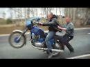 Подборка мото приколов на мотоциклах ИЖ Uma seleção de piadas moto em motocicletas IZH