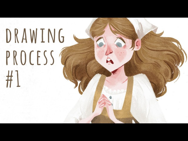 Drawing Process 1 - The Magic Wild Geese