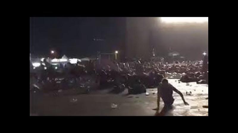 Момент Стрельбы в Лас-Вегасе Raw Footage Las Vegas Shooting at Route 91 Harvest Festival