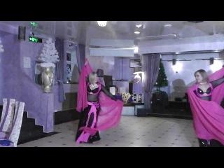 Ирина Шахова и Инна Мирошниченко. Студия Арабского танца