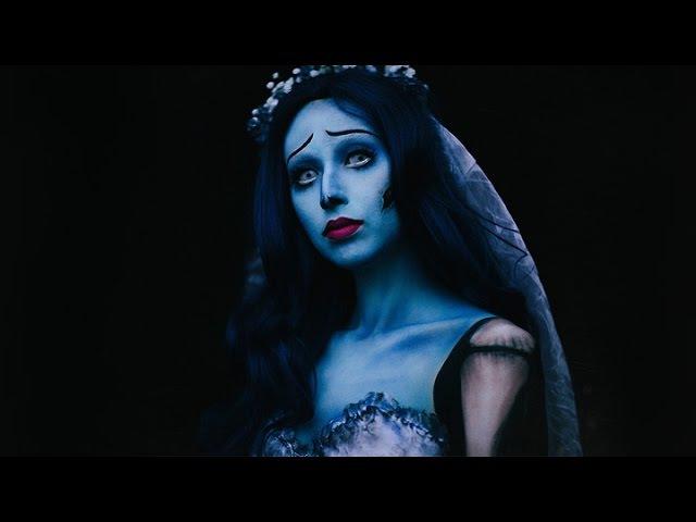 Tim Burton's Corpse Bride Emily Makeup | Halloween 2016