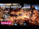 The Machines AR (by Directive Games) - iOS FIRST GAMEPLAY (Unreal Engine 4)