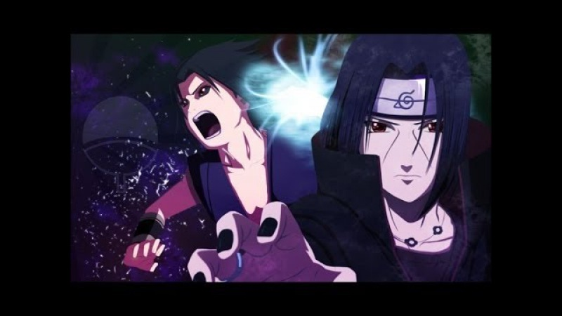 Naruto 「AMV」 Sasuke vs Itachi - Burning