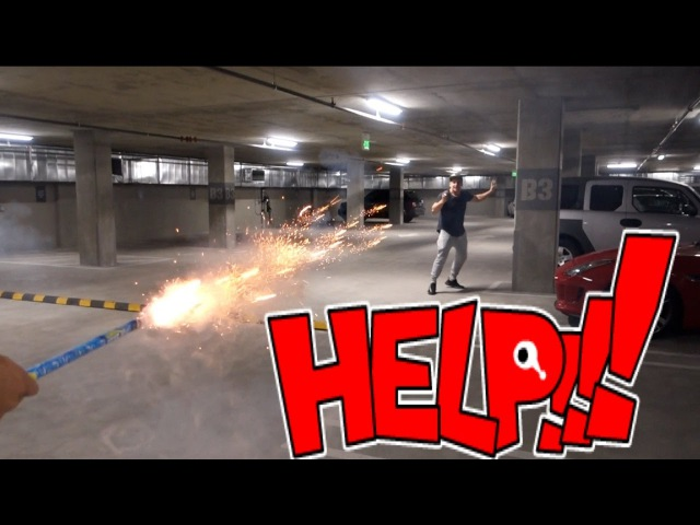 ROMAN CANDLES (PRANK WARS) JAKE PAUL VITALYZDTV