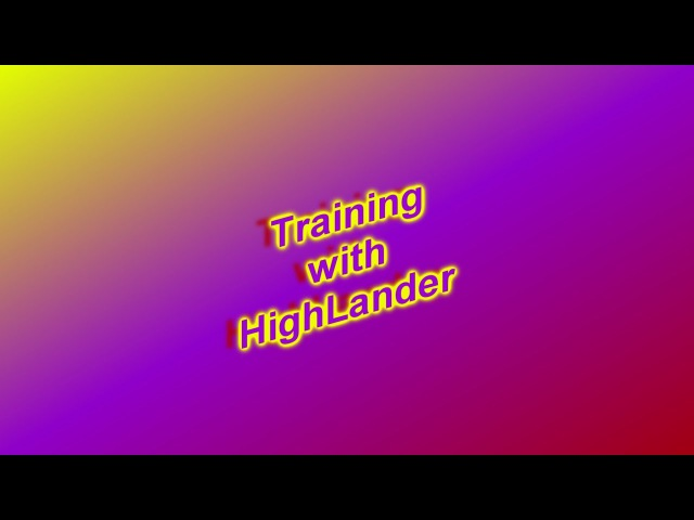 BF2142 - Training with HighLander