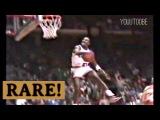 Rookie Michael Jordan's Rarely Seen ''Rock The Cradle Dunk'' vs Cavs 1984! Fans go Crazy!