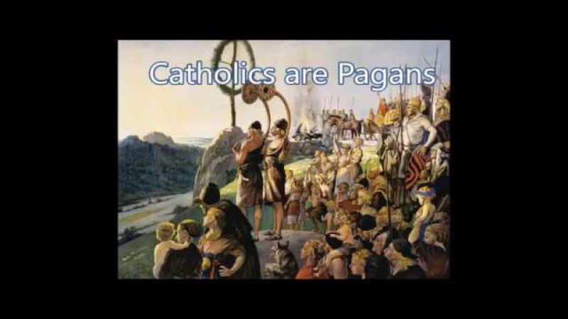 Католики это Язычники (rus subs) Catholics are Pagans
