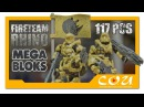 Набор солдатиков HALO группа огневой поддержки Носорог Mega Bloks UNSC Fireteam Rhino CNK25