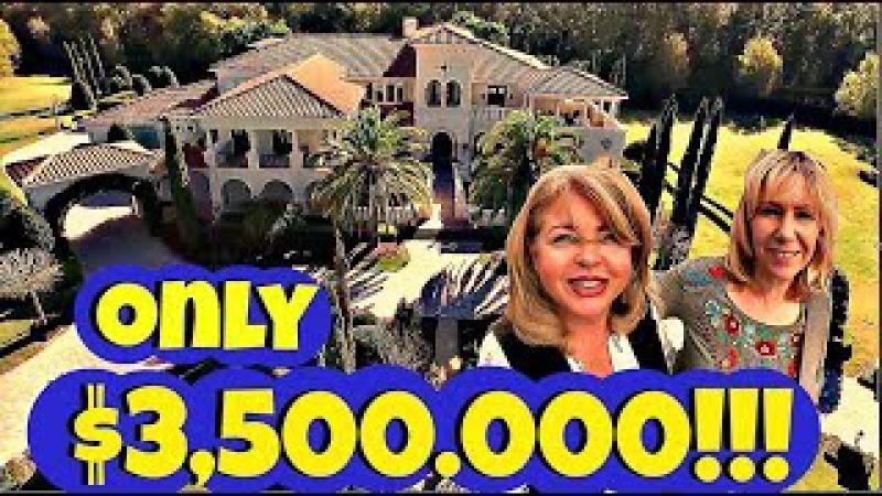 (1332) ДОМ В СТИЛЕ ВЕНЕЦИИ ВСЕГО ЗА $3,500.000! ВОТ ТАК ЖИВУТ БОГАТЫЕ И ЗНАМЕНИТЫЕ