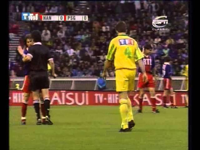 PSG 3 0 Nantes Finale de Coupe de France 1992 1993