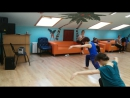 Хортон композиция с выпадом и арчем ЯНА и Соня 24.02.2017 с правой ноги