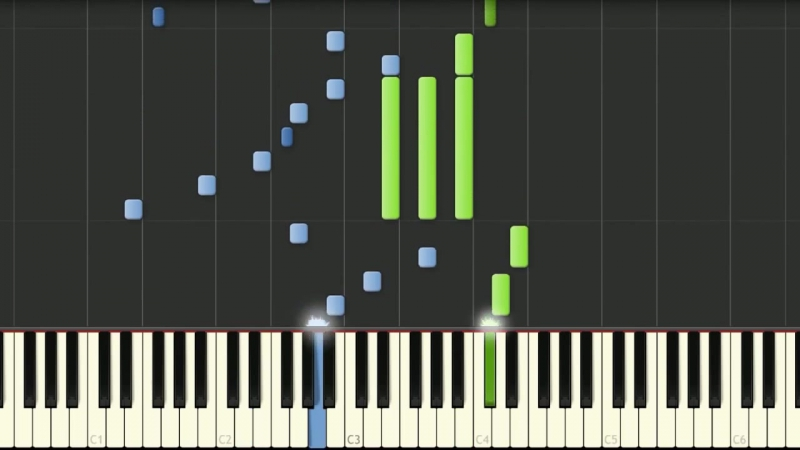 Angel Beats (Ангельские ритмы-игра на пианино)