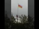 установка флага на архонском кругу в 4 утра