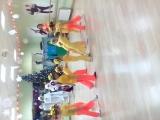 Глеб и Кира. Танец. Клоуны.