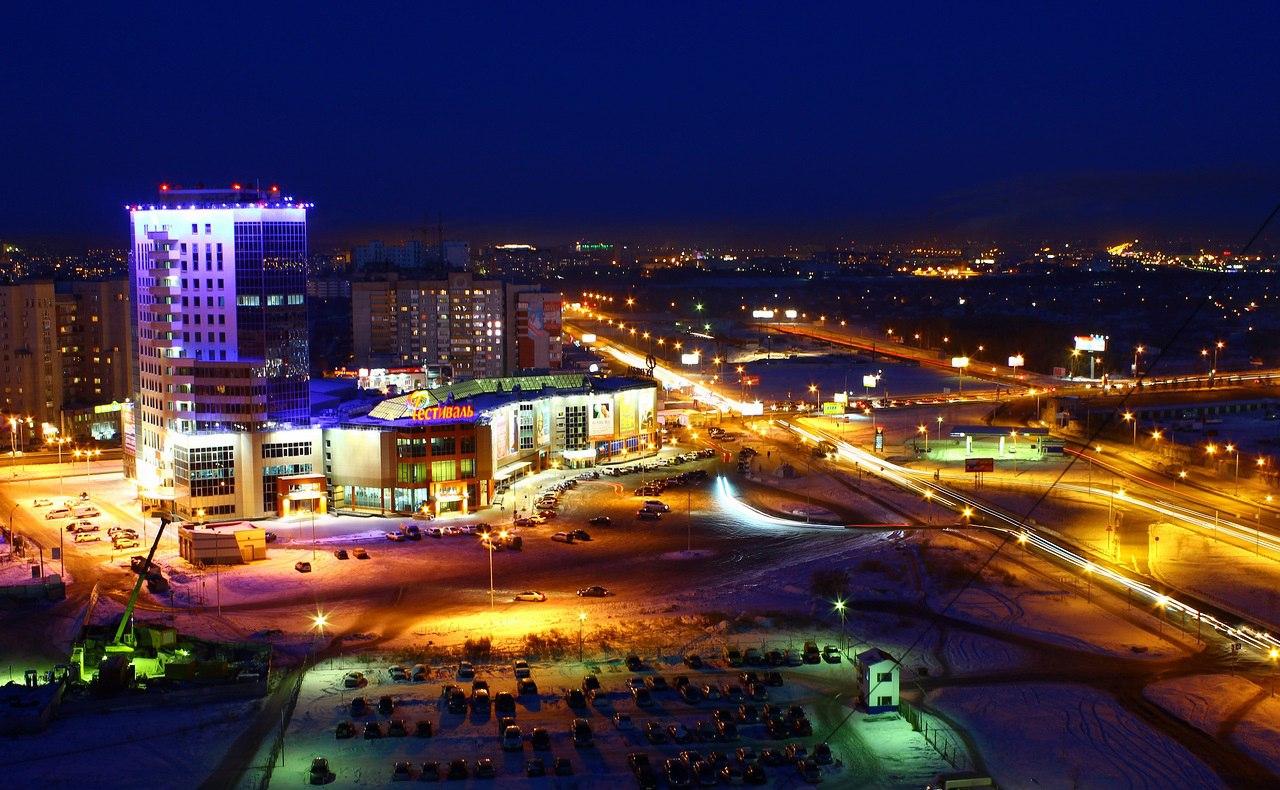 площадь ночной город омск картинки может быть