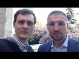 Дмитрий Пирог и Григорий Стангрит в студии Матч тв