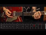 Sasha Rock'n'Roll guitar lessons - Social Distortion (Reach For The Sky) видео урок №9 tutorial