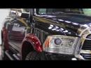 Полировка, покрытие Opti-Coat Pro и защитная плёнка на бампер и оптику для Dodge Ram LongHorn
