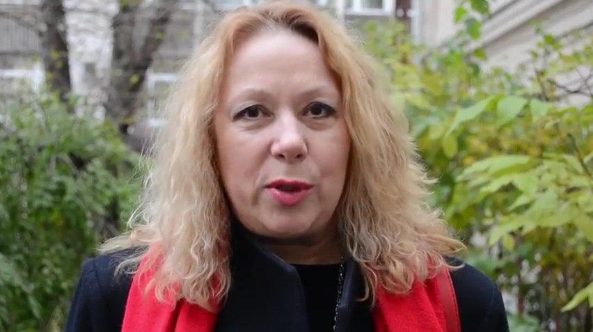 Актриса Оксана Мысина записала видеообращение в защиту историка Юрия Дмитриева