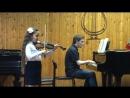 Veronica Gremyachikh 2 класс Пушкинская ДМШ №1- Ш.Данкля Вариации на тему Пачини