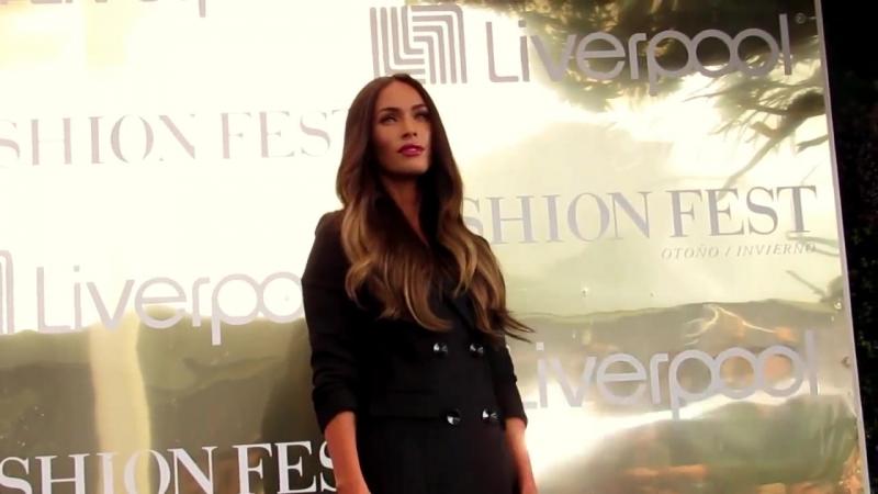 MEGAN FOX en MÉXICO Photocall COMPLETO Conferencia Liverpool FashionFest 2017 EnPOPados