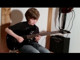 Dustin Tomsen 11 years old covers Slash Anastasia (Full Song)