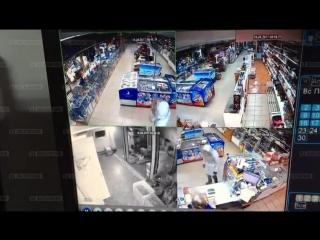 ЭКСКЛЮЗИВ: Ограбление с фейерверком