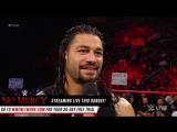 WWE.COM #RAW: Roman Reigns Calls John Cena A