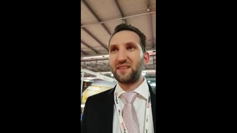 Expo Ferrovia 2017: интервью с директором Global Transnet UK Армандом Мурниекс!