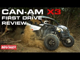 2017 Can-Am Maverick X3 First Drive Review | #RMATVMC