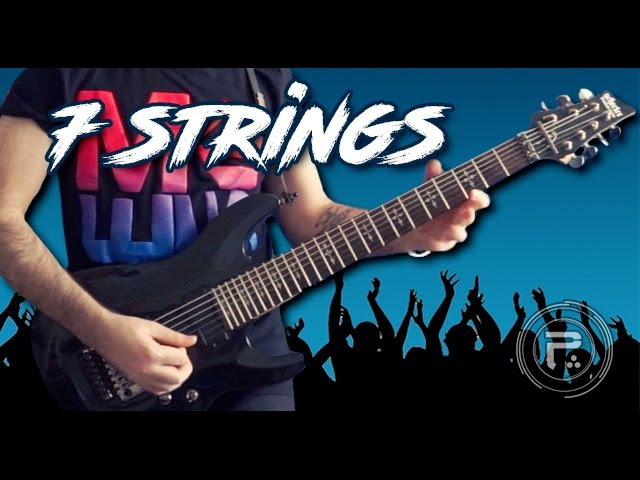 Top 5 Seven Strings Guitar Riffs