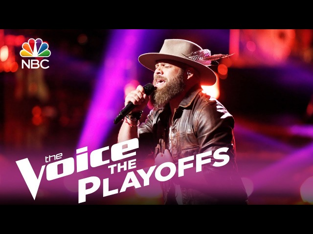 The Voice 2017 Adam Cunningham - The Playoffs Have a Little Faith in Me