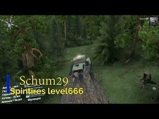 Spintires level 666(лесоповал)