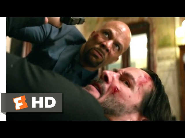 John Wick Chapter 2 (2017) - John vs. Cassian Scene (510) | Movieclips