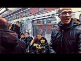 Дрищ против толпы. Страшное унижение в метро. Шок. Смешная реакция.