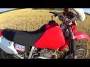 Обзор мотоцикла Honda XR250R `04 и тестдрайв
