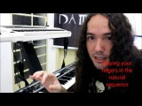 Heavy Metal Keyboard Lesson 1 (How to play like Jens Johansson from Stratovarius)
