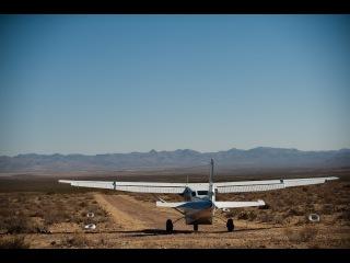 Посадка на тропинку 350 метров на самолёте Cessna 206