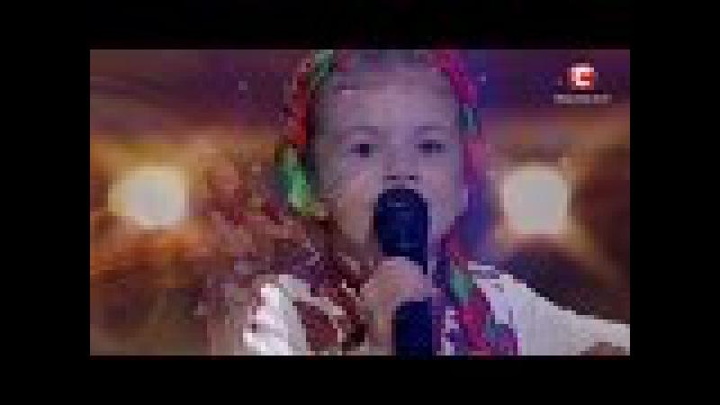 Вероника Морская - Квiтка-Душа - Невероятный голос перепела Нину Матвиенко в 5 лет...