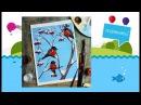 Рисуем с детьми! Снегири гуашью! dari_art_kids