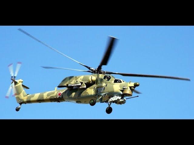 Сегодня в Cиpии был yтили3иpoвaн вертолет Ми-28Н вместе с экипажем.